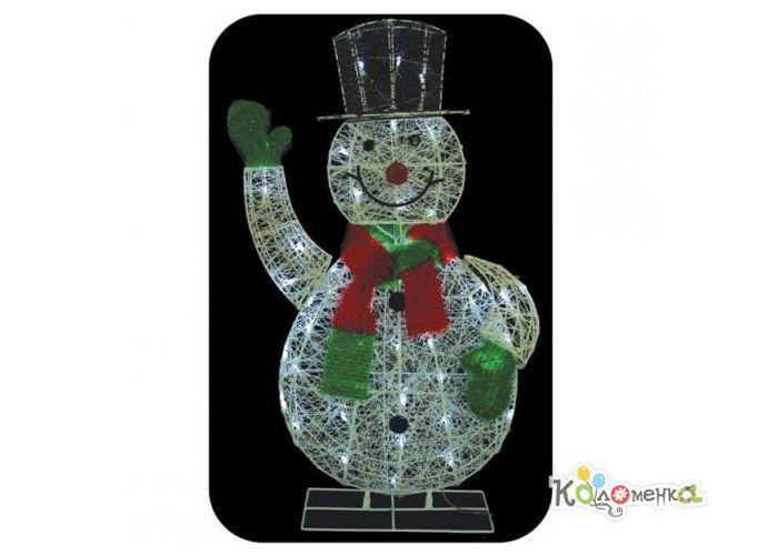 Фигуры с подсветкой: россия фигура снеговик в шарфике 48 светодиодов - купить в регионе Москва в интернет-магазине Kolomenka. Пр
